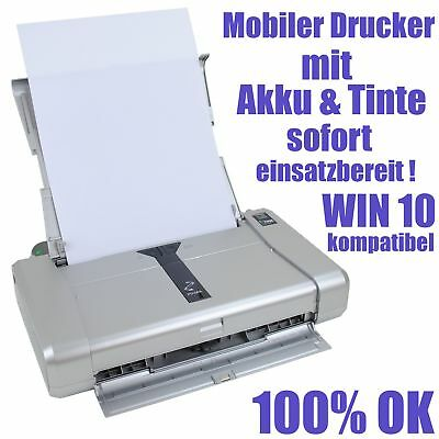 Canon Pixma Ip100 Ip 100 Mobiler Laptop Notebook Drucker