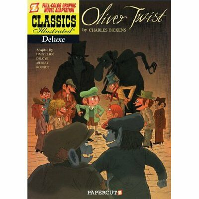 Classics Illustrated: Oliver Twist - Paperback NEW Charles, by Dic 2012-05-14