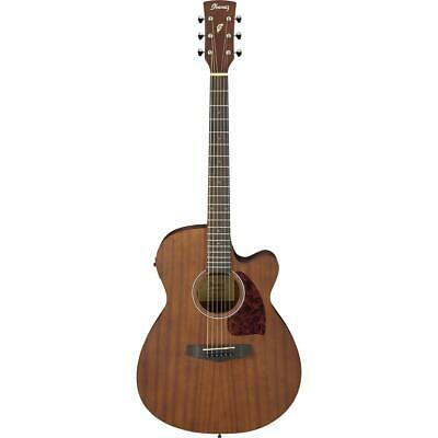 Ibanez Performance Grand Concert Acoustic-Electric Guitar, Open Pore Natural