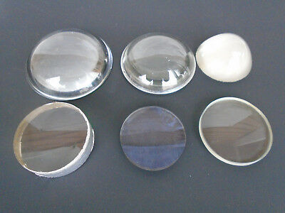 Magnificent Assorted Collection of Antique Glass Bulls Eye Lens 's . ALL SORTS !