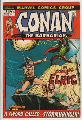 Conan the Barbarian  # 14  strict  NM-   artist  Barry Windsor Smith