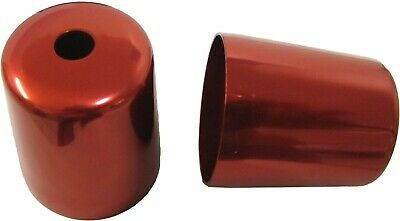 Bar End Cover Red For YZF1000R Thunderace (Pair)