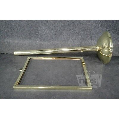 Tensator 30RH75 Tensabarrier Polished Brass Finish Sign Holder*