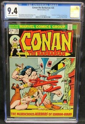 Conan the Barbarian #25 (1973) Barry Windsor Smith Story CGC 9.4 CV598