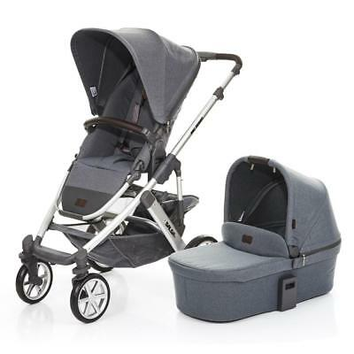 ABC Design Salsa 4 Pushchair & Carrycot (Mountain) 2018 Model - From Birth