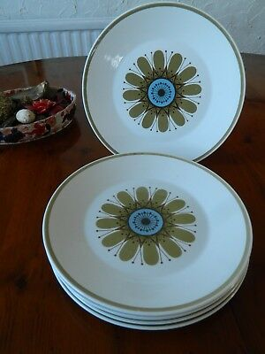 6 J. & G. Meakin ' Galaxy'  Side  Plates 7 1/4""
