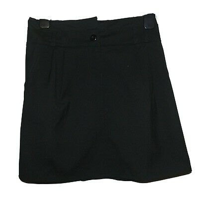 FAB NEW GIRLS EX STORE BLACK A LINE POCKET SCHOOL SKIRT AGE 7 - 16 years (CCC)