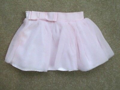 Baker By Ted Baker - Pink Net Skirt With Bow Detail - Age 9-12 Months