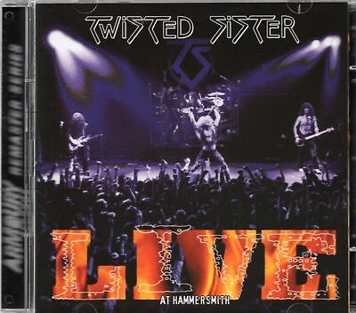 Twisted Sister - Live At Hammersmith 1984 (2 x CD) Remastered (New & Sealed)