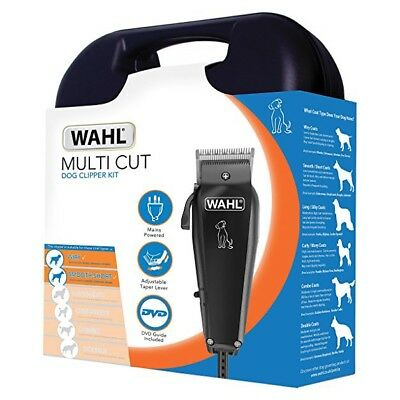 Wahl Professional Dog Clippers Pet Grooming Trimmer Kit Electric Animal Shaver