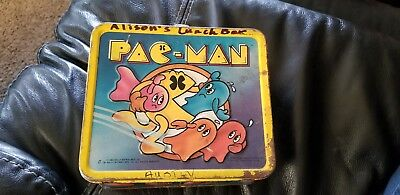 Vintage Metal lunch boxes, Pac-man, Gremlins, Holly Hobbie.. Lot of 3