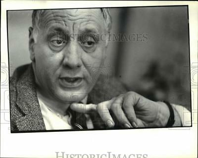 1982 Press Photo Heart of Willoughby Committee Chairman Joseph Tulley