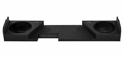 """Double Cab Dual 10"""" Sealed Subwoofer Sub Box Enclosure For 2014-2017 GMC/Chevy"""