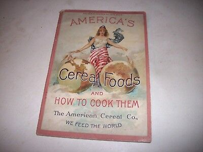 1893 QUAKER OATS Cereal Feed The World Book Worlds Fair Coupon Miss Liberty CVR