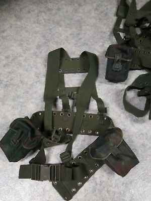 Bundeswehr Carrying Equipment with Magazine Bags