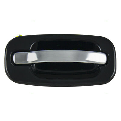 New Passenger Outside Front Door Handle Black & Chrome Cadillac GMC Chevy Pickup