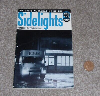 Old vintage sidelights BMC drivers club magazine october november 1964 austin