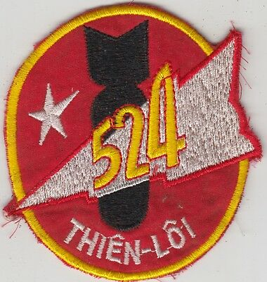 ARVN South Vietnamese Air Force Patch 524th Flying Group