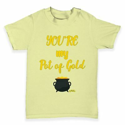 Funny Baby T Shirts ST Patricks Day Your My Pot Of Gold Baby Toddler T-Shirt