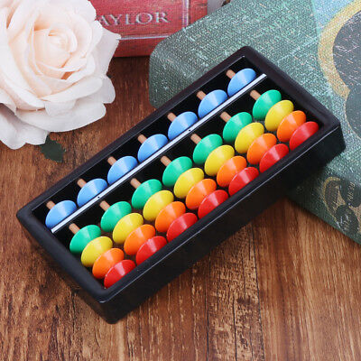 Colorful Abacus Arithmetic Soroban Maths Calculating Tools Kids Educational Toy