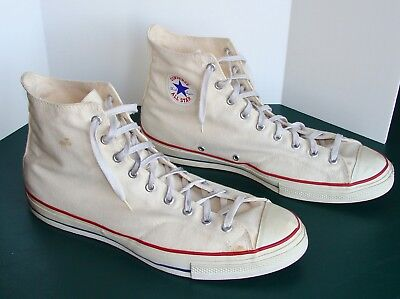 Vintage Converse All Star Chuck Taylor High Tops Size 16