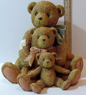 Cherished Teddies Theadore Samantha Tyler Friends Come All Sizes  951196 Large