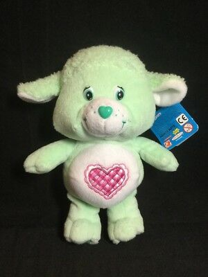 "2004 Care Bear Cousins Plush 8"" Gentle Heart Lamb Collectors Ed. series 2 NWT"