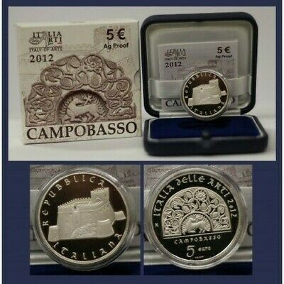 2012 Italy Coin Commemorative Campobasso - Ipzs - Proof Silver