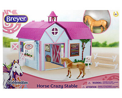 Breyer Horse 59193 Horse Crazy Stable - NEW