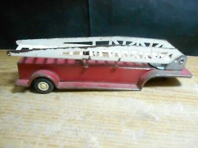 TONKA TOY DIECAST FIRETRUCK LADDER VINTAGE as is as found