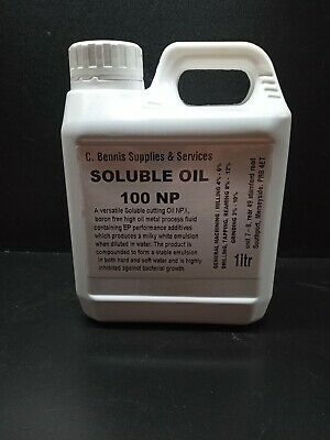 White Water Soluble Cutting Oil Suds Machine Coolant 1Ltr, 5Ltr, 25Ltr