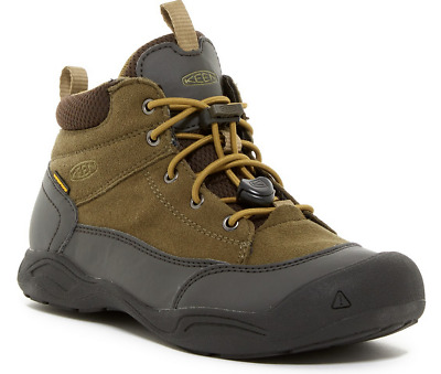 New Keen Jasper Waterproof Boots Boys Youth 2 Lace Up Hiking Boots