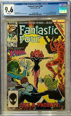 Cgc 9.6 Fantastic Four #286 .. 1St X-Factor .. Jean Grey Returns .. Key ..