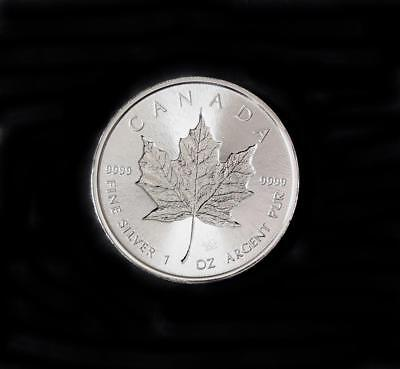 2018 Canada Silver Incused Maple Leaf Bu 1 Oz