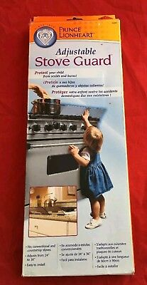 Prince Lionheart Adjustable Stove Safety Guard- Easy to Install - new