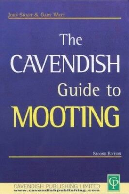 Cavendish Guide To Mooting by Watt, Gary Paperback Book The Cheap Fast Free Post