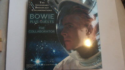 David Bowie ** Legendary Broadcast Collaborations ** 4 Vinyl ** Limited Clear