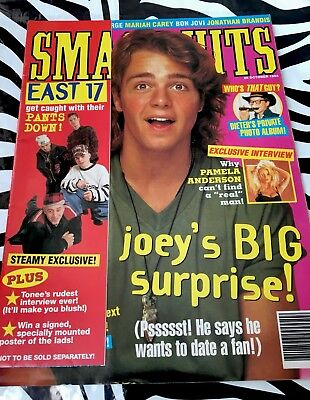 Smash Hits Magazine - Joey Lawrence / Kylie Minogue / Pamela Anderson