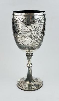 LONDON ROAD ALLOTMENT SOCIETY 1898 Silver Plated TROPHY SALISBURY WILTSHIRE