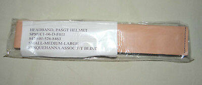 Kevlar PASGT Sweatband Headband Liner, Military Issue, Fits S/M/L, New
