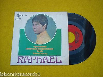 "7"" Single Raphael al ponerse el sol Portugal edit(EX/VG+) EP Alvorada Ç"