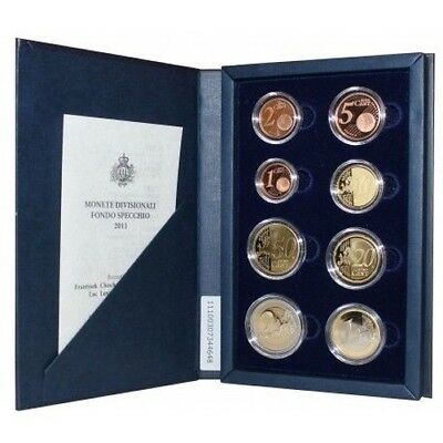 2011 San Marino Divisional Coins Proof Packaging Mf26767