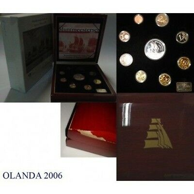 2006 Holland Divisional Proof Sailing Ships 9 Coins Mf8833