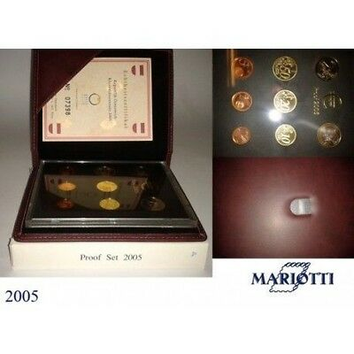 2005 Austria Divisional Proof 8 Coins Mf8816