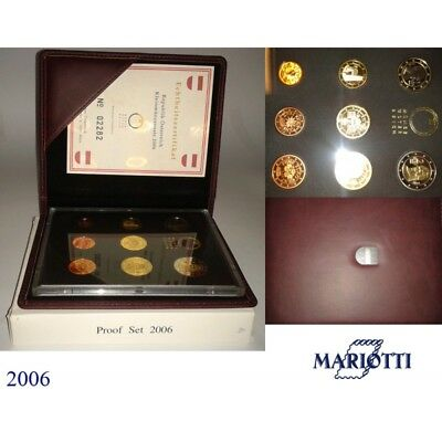 2006 Austria Divisional Proof 8 Coins Mf8817
