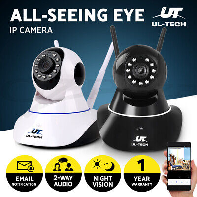 1080P Wireless IP Camera CCTV Security System Network Monitor Night Vision 1/2pc