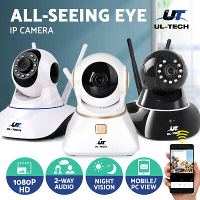 UL-TECH 1080P Wireless IP Camera CCTV Security System Monitor Night Vision