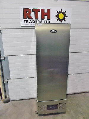 Foster ~ Upright Fridge Slimline Single Door Commercial Chiller Cooler SS £450+V