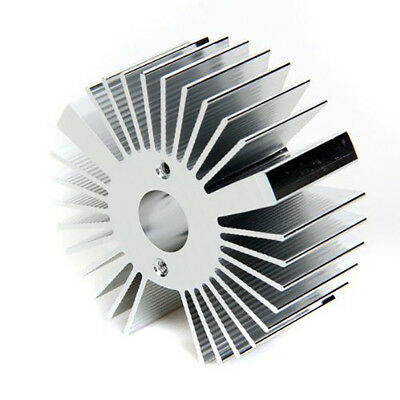 53mmx22mm Round Durable Aluminum Heat Sink Cooling For 3W LED Light Heatsink NEW