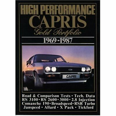 High Performance Capris Gold Portfolio 1969-1987 (Brook - Paperback NEW Clarke,